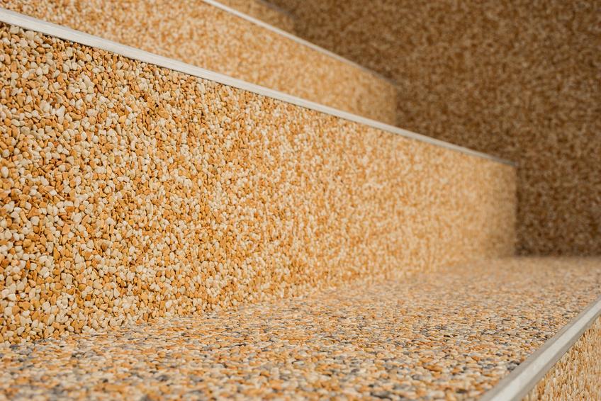 Steinteppich, Quarzcolorboden