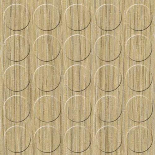 Abdeckkappen Eiche-Grau 14 mm