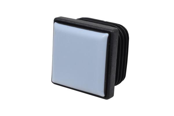 Teflon Stopfen für quadratische Rohre 35 x 35 mm