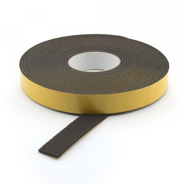 Filzband selbstklebend dunkel 25 mm