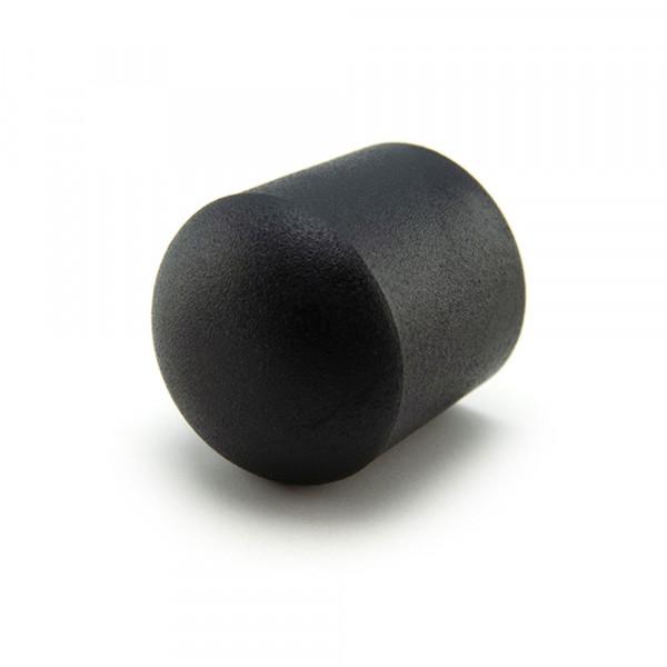 Runde Kappen schwarz 10 mm