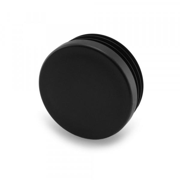 Runde Stopfen schwarz 41 mm