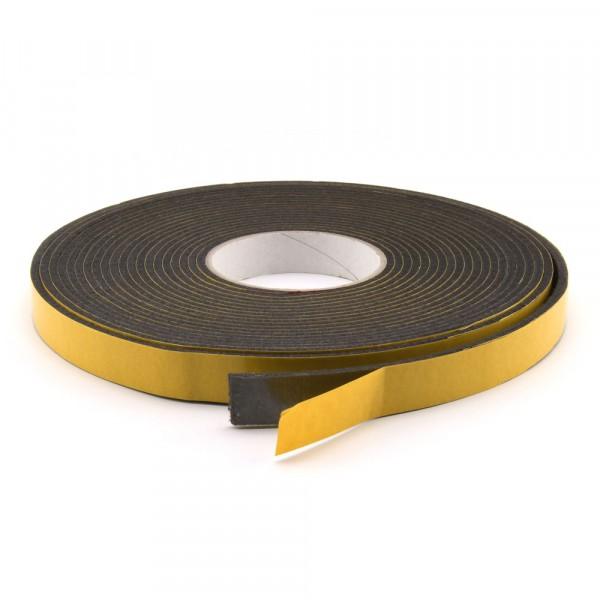 Filzband selbstklebend dunkel 17,5 mm