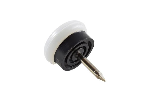 Möbelgleiter Kunststoff mit Nagel 18 mm