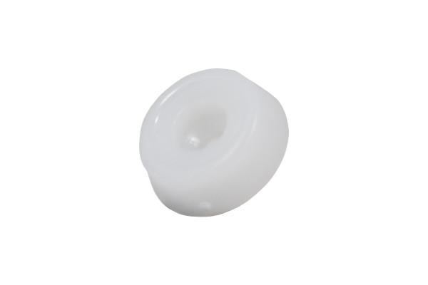 Kunststoffgleiter zum Schrauben 20 mm weiss