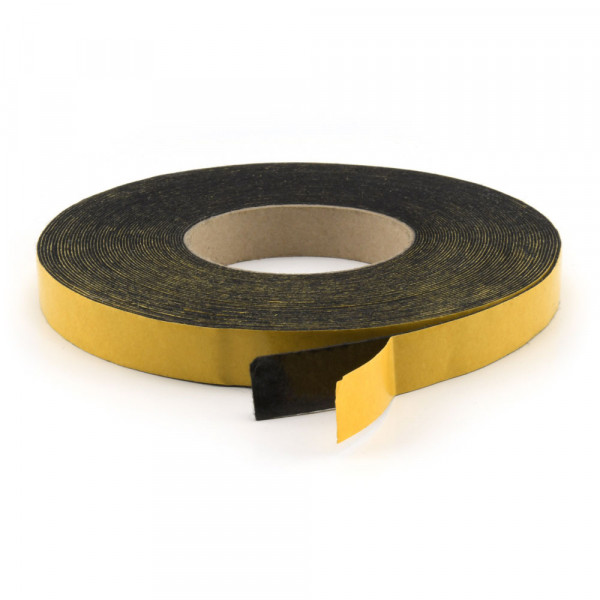 Filzband 1 mm selbstklebend 25 mm