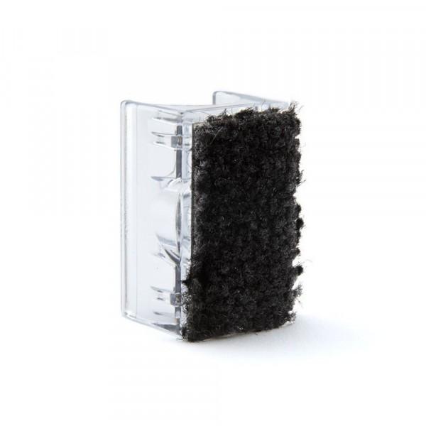 Klemmgleiter transparent 16 mm