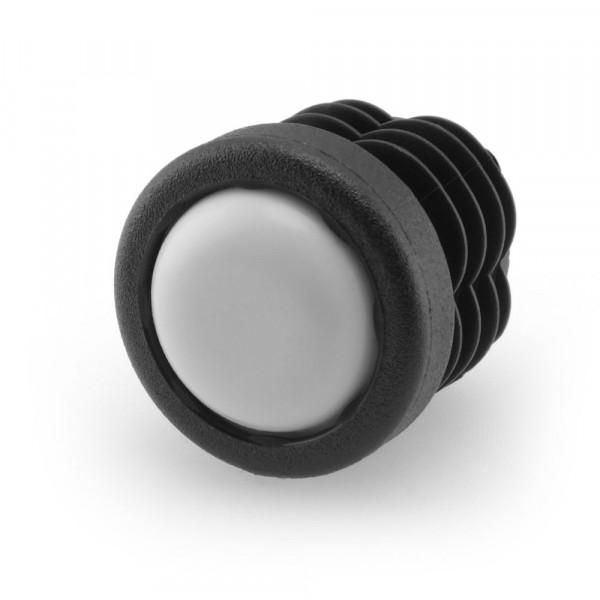 Runde Stopfen mit PTFE-Gleitfläche 21,7 - 24,5 mm