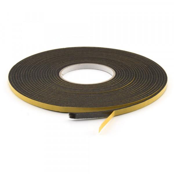 Filzband selbstklebend dunkel 7,5 mm